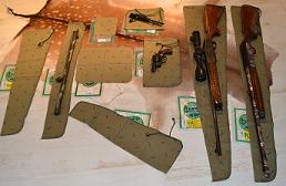Waffen Korrosionsschutztücher & Laufkonrolle