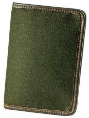 Jagdscheintasche grünem Nadelfilz