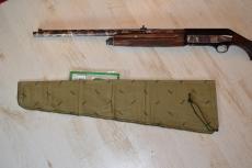 FAW08 Einschlagfutteral für Gewehrläufe mit aufgesetztem Zielfernrohr. Maße 77 x 20 > 10 cm.