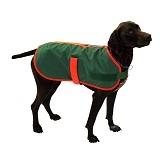 Hundedecke mit signalorangener Einfaßung Grösse S