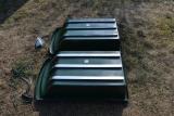 Stahlkufen, 3er-Pack  für Wanne (LxBxH) 99x56x26)