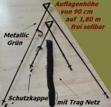 Teleskopzielstock Zweibein 1Stück !!mit Tragnetz!!
